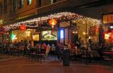 Streetside Dining in Asheville, NC