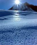 Sur le Plateau de Lescun en hiver