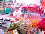mercado de artesanias: fruta y verdura