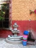 courtyard of templo de san francisco
