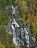 Whitewater Falls in Autumn