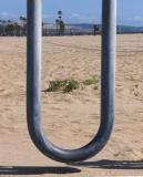 U is for Unicycle rack
