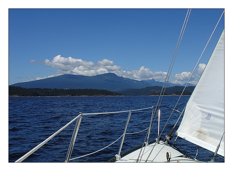 heading for Sunshine Coast - British Columbia