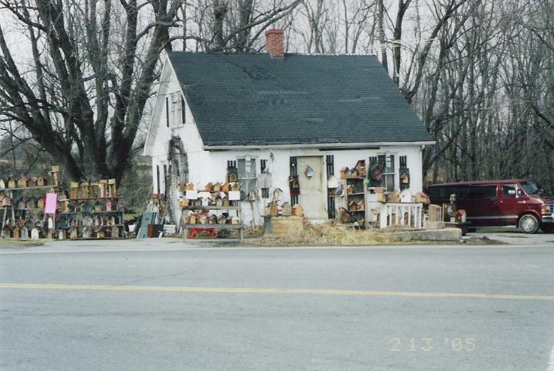 The birdhouse house