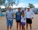 Spokanites at the finish line