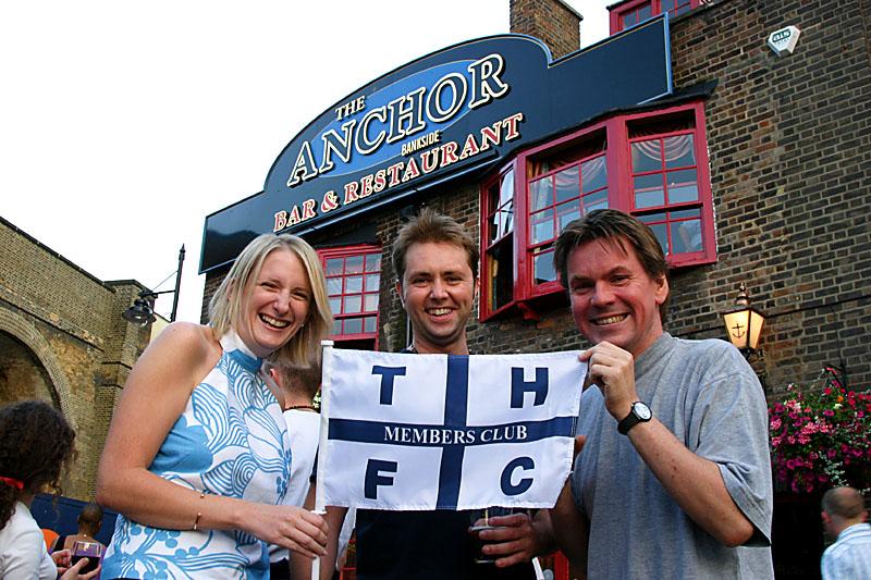 23rd July 2004 - La La La - summers here and were in the pub!