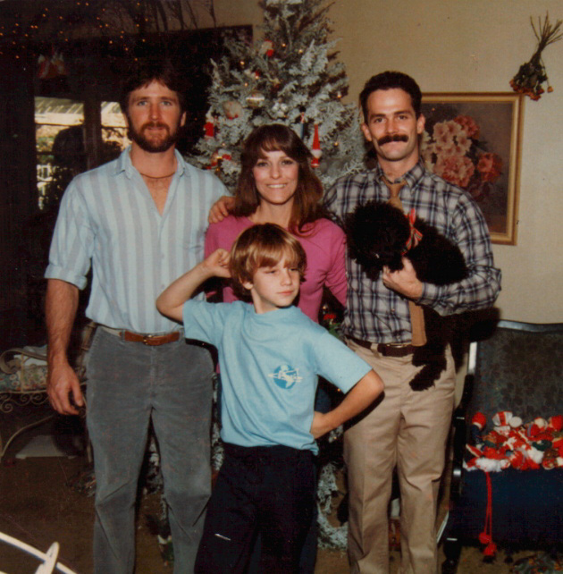 Me and My Boys about 25 years ago...