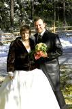 our bride & groom