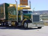 big rig trucker