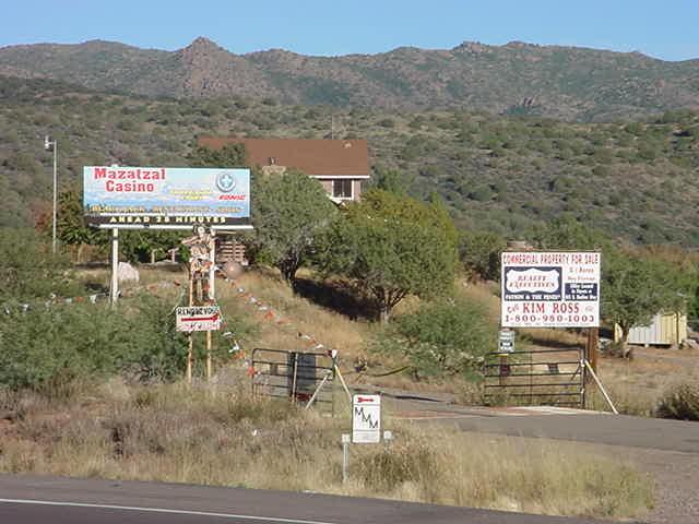 Sunflower Arizona entrance