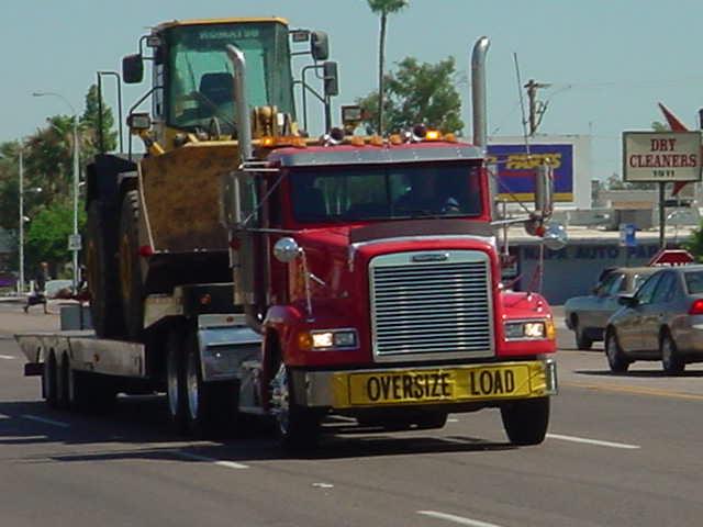 big rig on<br> Scottsdale Road