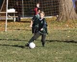 Kicking Cobras Soccer Team - Fall 2003 - Game 6