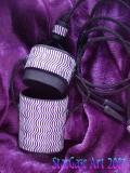 Interference Purple Pendant Box - open view