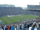 The field is set at a Penn State Football game