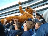 The Nittany lion Lifting Tradition, Penn State University