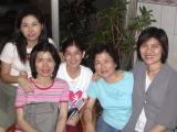 Nurses-(left to right) Hui Koan, Susan, Pi-sia, A-bin, Me-chuen
