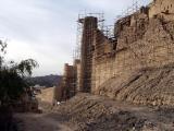 Restoration work at Bahla Fort, 2003