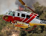 Fire in Trabuco/Silverado Canyon, Sept. 25, 2004