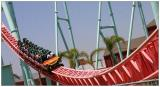 Rollercoaster at Knotts Berry Farm