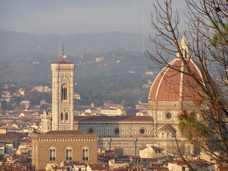 The Duomo from Fort Belvedere