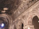 frescoes on ceiling of monastery