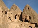 more dwellings in the chimneys