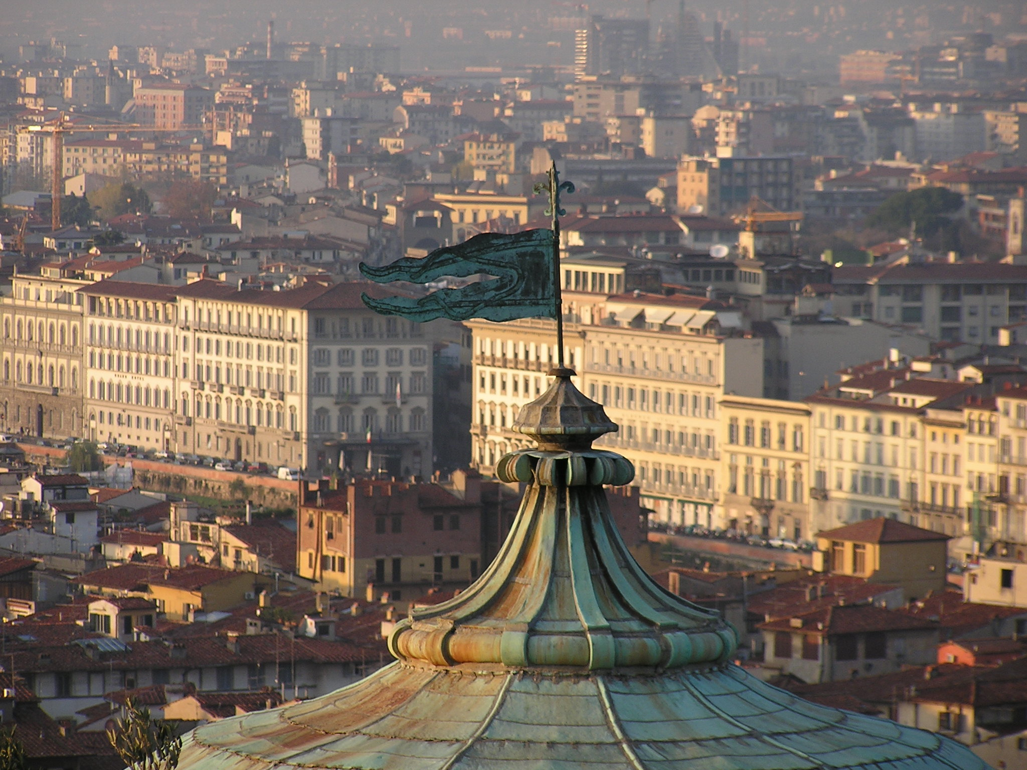 Florence is a big, sprawling city