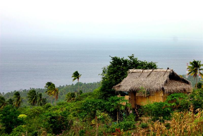 Nipa Hut: the Native home, Davao, Philippines