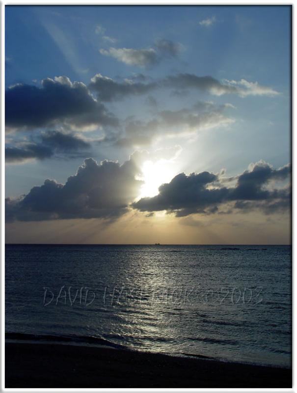 Torii Beach Sunset