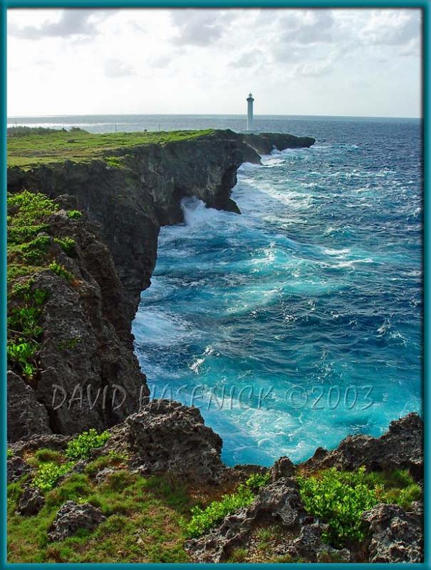 Cape Zanpa Lighthouse Cliffs