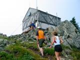 The top of Thorpe Mountain