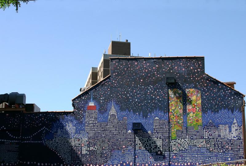 Forever Tall Mural