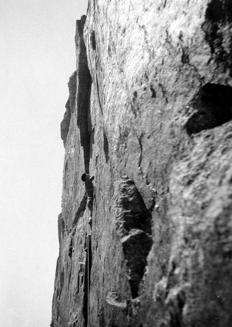 1935 - Aiguille Sud dAmitges - Voie Abadie