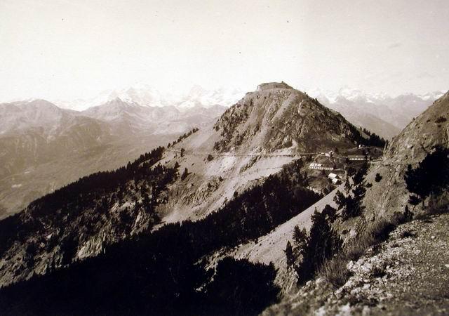La Cochette et le fort de lInfernet en 1932