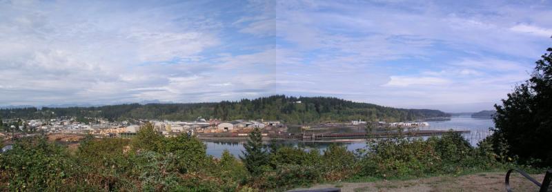Shelton, Washington Panorama