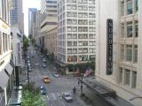 Downtown Seattle from Nordstrom's Walk-way
