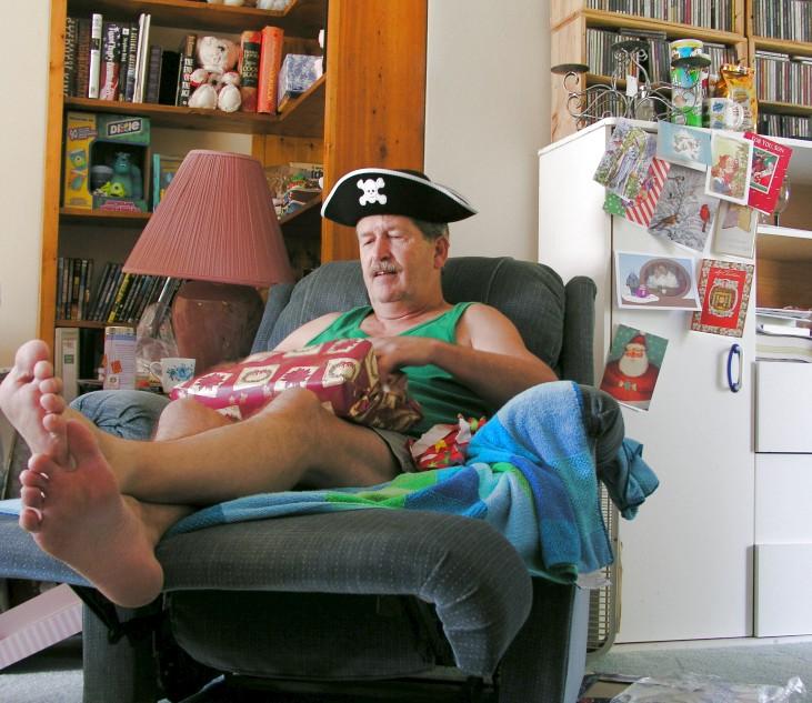 Uncle Jack... or is that Captain Jack?