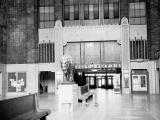 Central Terminal Showing Buffalo Statue