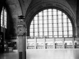 Central Terminal Showing Clock