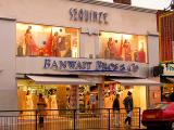 sequined saris
