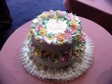 Mom's birthday cake
