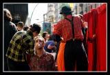 Rue Santa Fe lors de la fete du Printemps