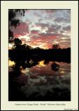 Sunset over Kings Park