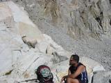Santosh at Thunderbolt Pass