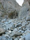 Up the Southwest chute
