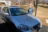 Samantha's new car