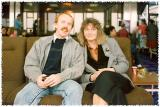 2 Sept 90 - At Christchurch Airport - enroute to Queenstown