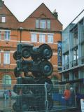 Tractor parking in Dublin