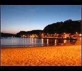 São Martinho do Porto  by night .. 01