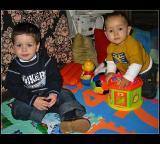 27.11.2004 ... Lucas e Pedro !!!!